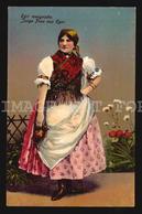 Egri Menyecske Junge Frau Aus Eger Hungary Magyar Vintage Orignal Postcard Ak W5-1440 - Europa