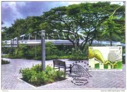 30a: Bridge , Singapore 7, Carte Maximum Card, Maxicard, MC - Bridges