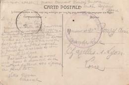 ISERE CP 1915 PONT EN ROYANS HOPITAL TEMPORAIRE DE PONT EN ROYANS - 1877-1920: Période Semi Moderne