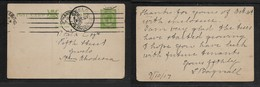 South Africa, 1/2d Postal Stationery Card, JOHANNESBURG OC 11 17  > GWELO S. RHODESIA 16 OC 1917 - Lettres & Documents
