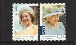 AUSTRALIA, 2020 QUEENS BIRTHDAY 2 MNH - 2010-... Elizabeth II