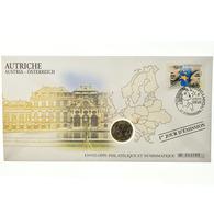 Autriche, 1 Euro, 2005, Enveloppe Philatélique Numismatique, SPL, Bi-Metallic - Autriche
