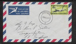 South Africa, 12 1/2c, Rugby. PINETOWN  2  -8 MAY 64, C.d.s., First Day Cover - FDC
