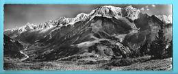 74--LA CHAINE DU MONT-BLANC-la Vallée De L'arve Des Houches à Chamonix--vue Panoramique-GRAND FORMAT-voir 2 Scans - Chamonix-Mont-Blanc