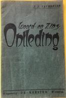 (128) Woord- En Zinsontleding - 1943 - 78 P. - Uitg. De Meester Wetteren - Books, Magazines, Comics