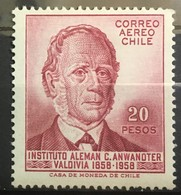 CHILE 1959 * MLH Mi:CL 549, Sn:CL C213, Yt:CL PA181, Sg:CL 477 - Chile