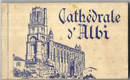 Albi Cathédrale D' Albi Carnet 15 Vues - Albi
