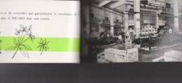 Carnet De Visite Usines RICARD -publicité Cartes Postales -années 60 Sans Doute -atelier Siege Social Marseille Margeray - Publicidad