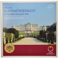 Autriche, Coffret, 2010, 1c à 2€, FDC - Autriche