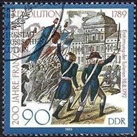 German Democratic Republic 1989 - Mi 3260 - YT 2867 ( Storming Of The Tuileries ) - Used Stamps