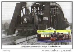 30B: Malayan Railway Train Old Locomotive No3 Maximum Card Maxicard MC - Treinen