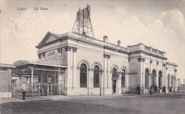 Leuze, La Gare. 2 Scans - Leuze-en-Hainaut