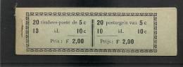 Belgie Belgique Carnet A11 1914 Cote 175€ , NSCH Agrafe Original - Origineel Nietje - Booklets 1907-1941