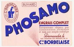 Buvard 20.8 X 13.5 CIE BORDELAISE DES PRODUITS CHIMIQUES Engrais Complet PHOSAMO - Agriculture
