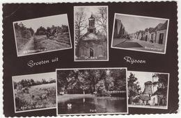 Groeten Uit Rijssen - (Bij Friezenberg, Gr. Kerk, Bouwstraat, Ree In T Wild, Park, Pelmolen) - Rijssen