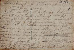 All031 Lesen Sie Zeugenauss Géant 2m41 Parle Français Pas Gras SARREBRUCK 12.1918 WERNER SYRE Größte Soldat DEUTSCHLAND - Personen