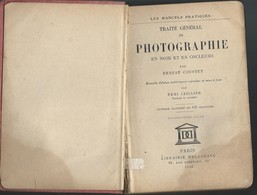 Manuels Pratiques Traité De Photographie  Par Ernest Couster De 1938 . - Audio-Visual