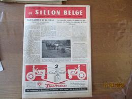 LE SILLON BELGE DU 30 AVRIL 1955 LES ETAPES D'UNE EVOLUTION DE LA MONTAGNE A LA MER,TRACTEUR FERGUSON, - Animals
