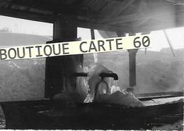 25 -LA NEIGE DANS LE HAUT DOUBS - FONTAINE -LAVOIR - France