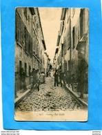 CASSIS -rue Droite Animée-édition Lacour-a Voyagé  D'époque-1900-10 - Cassis