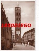 VELLETRI - TORRE DEL TRIVIO F/GRANDE VIAGGIATA 1936? ANIMAZIONE - Velletri