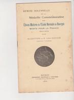 Eleves Maîtres Ecole Normale BOURGES FRANCE -remise Médaille Commémorative Morts France 1914-1918 - Léon Gistucci - France