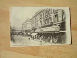 Cpa 76 Le Havre Perspective Rue De Paris Prise De La Place  Gambetta - Andere
