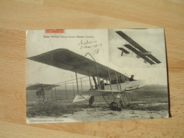 Avion Biplan Militaire Henry Farman Moteur Gnome - 1914-1918: 1ste Wereldoorlog