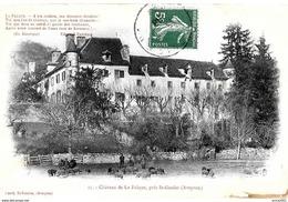 Saint Geniez D'Olt Et D'Aubrac. Le Chateau De La Falque Et Le Paturage Des Moutons. - France