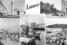 """LORIENT - Port De Commerce - Place Alsace Lorraine Et St-Louis - Une Plage De Larmor - Bateau """"Jolie Paimpolaise"""" - Yvon - Lorient"""