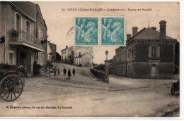 Chaillé-les-Marais- Gendarmerie-Route De Vouillé - Chaille Les Marais