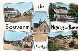 MEZIERES SOUS BALLON ( 72 ) -     CPSM - France