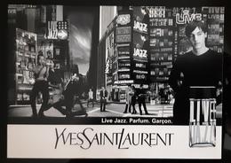 Yves Saint Laurent Live Jazz Parfum Carte Postale - Perfume Cards