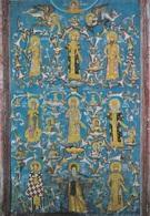 (ST090) - KOSOVO -  Manastir Decani, Albero Genealogico Della Famiglia Nemanjic - Kosovo