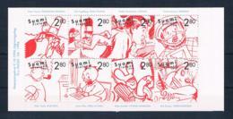 Finnland 1996 Comics Mi.Nr. 1357/64 MH 44 ** - Finland