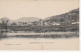 20 / 4 / 381. -   Env. DE  CANNES , MANDELIEU   ( 06 ). LES  TERMES  VUE  GÉNÉRALE    - CPA - Cannes