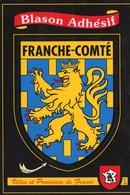 Blason Adhésif De FRANCHE COMTE  -   CPSM ( KROMA ) - Franche-Comté