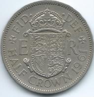 United Kingdom / Great Britain - 1961 - Elizabeth II - ½ Crown - KM907 - 1902-1971 : Monete Post-Vittoriane