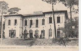 20 / 4 / 383. -  Env.  De  CANNES  PAVILLON  DES  SPORTS  (  Restaurant De L'aviation  )  MANDELIEU  - CPA - Cannes