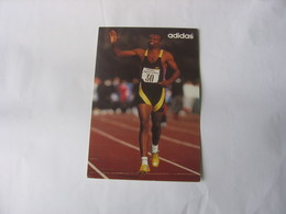 Carte Postale Athlétisme - Kriss Akabusi - Atletica