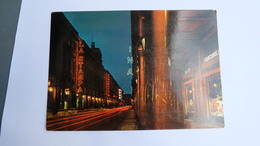 Torino Via Roma Inna - La Stampa  Notturno  Stamp ! - Bars, Hotels & Restaurants