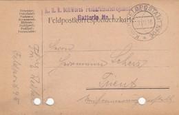 9731-FRANCHIGIA 1° GUERRA - AUSTRIA - K.U.K. FELDPOSTAMT N.95 - 3-8-1916 - Covers & Documents