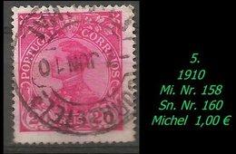1893 - Mi. Nr. 158 - 1892-1898 : D.Carlos I