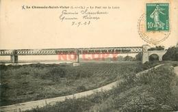 SL 41 LA CHAUSSEE-SAINT-VICTOR. Train Traversant Le Pont Sur La Loire 1923 Blois - Blois