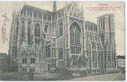 Oostende - Ostende - La Nouvelle Eglise De Ste. Pierre Et Paul Inaugurée En 1905 - Ed. V.G. No 10 - Oostende