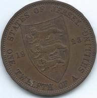 Jersey - 1923 - George V - 1/12 Shilling - KM12 - Jersey