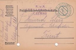 9736-FRANCHIGIA - AUSTRIA - K.U.K. FELDPOSTAMT 221 - 29-8-1916 - Storia Postale