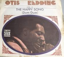 45T : «The Otis Redding Story» Vol 12: (The Happy Song/Open The Door). Pochetteillustrée,en Papier, ,jaunieavec - Blues