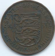 Jersey - 1933 - George V - 1/12 Shilling - KM16 - Jersey
