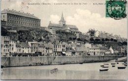 50 GRANVILLE - L'avant-Port Et La Rue Du Port - Granville